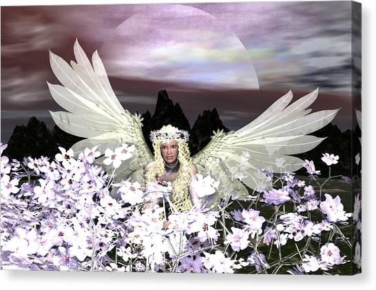 Angel My Guardian Canvas Print