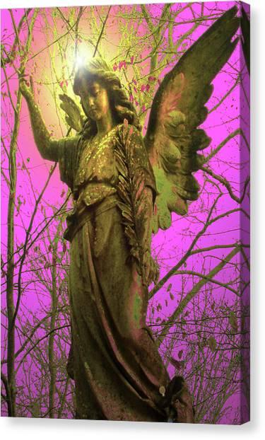 Seraphim Angel Canvas Print - Angel Of Bless No. 02 by Ramon Labusch