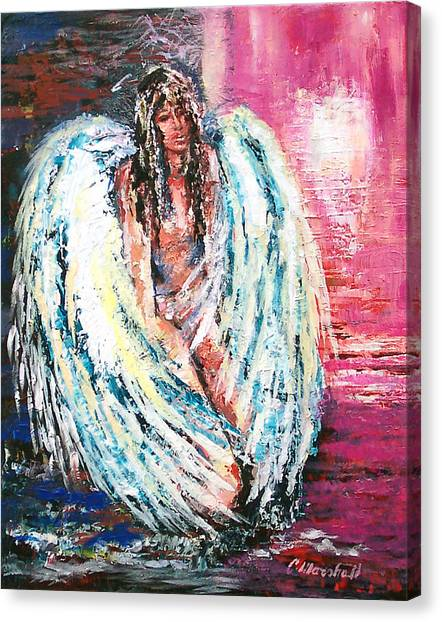 Angel Of Dreams Canvas Print by Claude Marshall