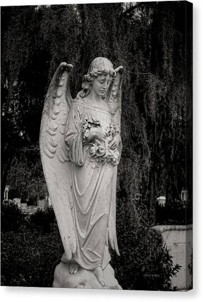 Angel Of Expression Canvas Print