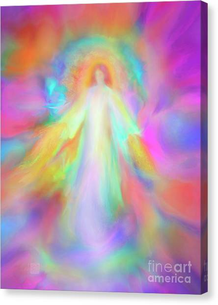 Angel Of Forgiveness And Compassion Canvas Print