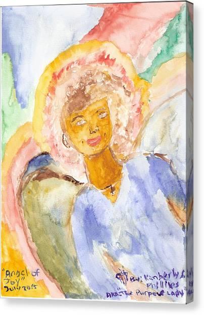 Angel Of Joy Canvas Print by Kimberly Ware