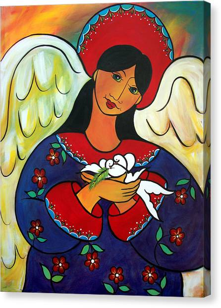 Angel Of Renewal Canvas Print