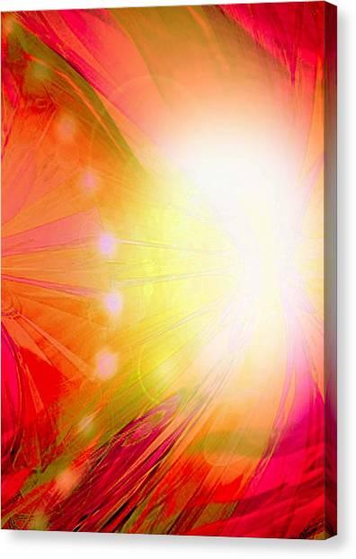 Angel Of Transformation Canvas Print by Mairin Gilmartin