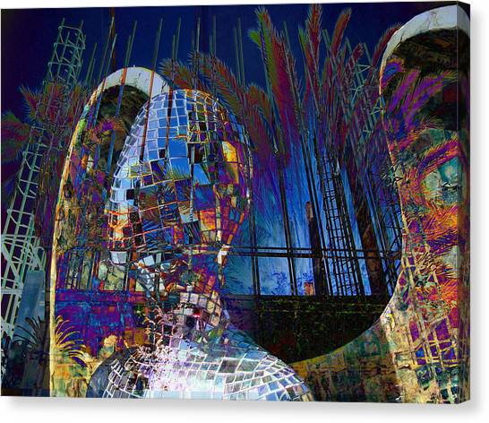 Los Angeles Angels Canvas Print - Angel Of Venice by Janet Gervers