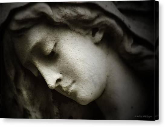 Angel Sorrow Canvas Print