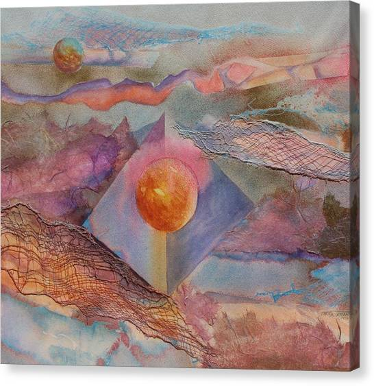 Angel Sphere Canvas Print