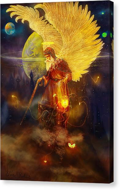 Angel Uriel Canvas Print