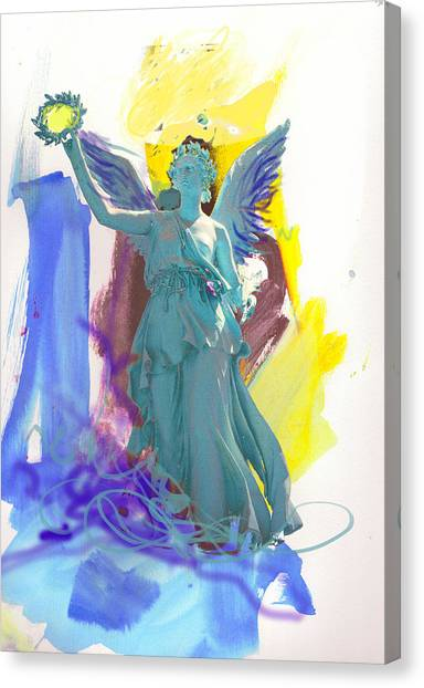 Angel, Victory Is Now Canvas Print