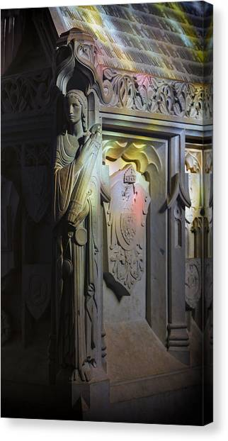 Cornell University Canvas Print - Angelic Escort by Stephen Stookey