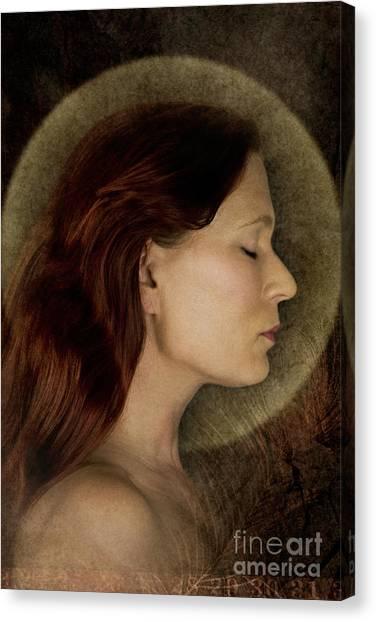 Angelic Portrait Canvas Print