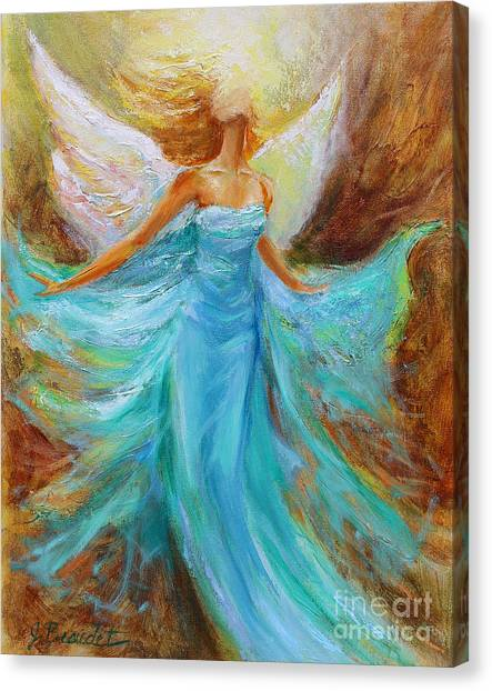Angelic Rising Canvas Print