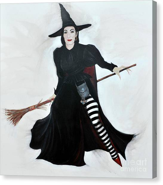 Angelica Houston Bewitched Canvas Print