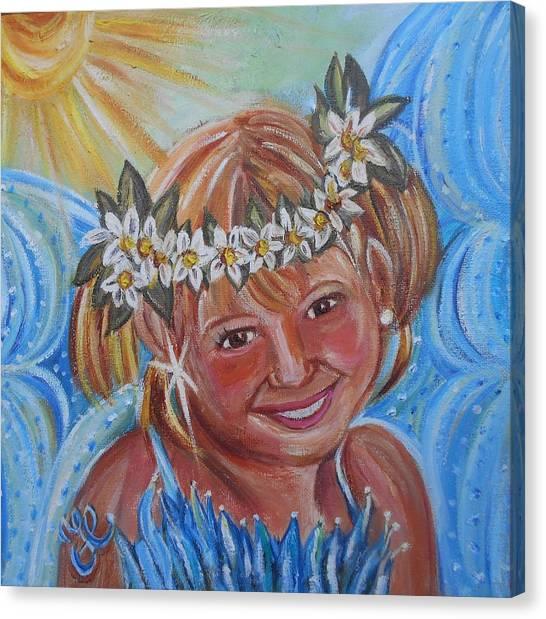 Angelina Faery Canvas Print