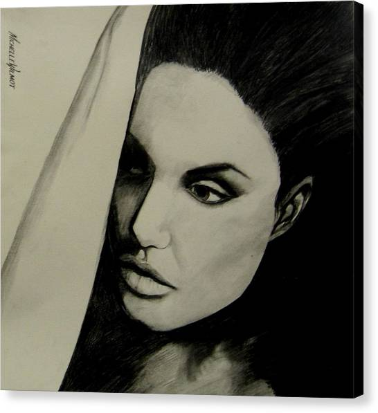 Angelina Canvas Print