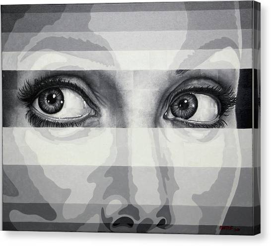 Angelina's Eyes Canvas Print