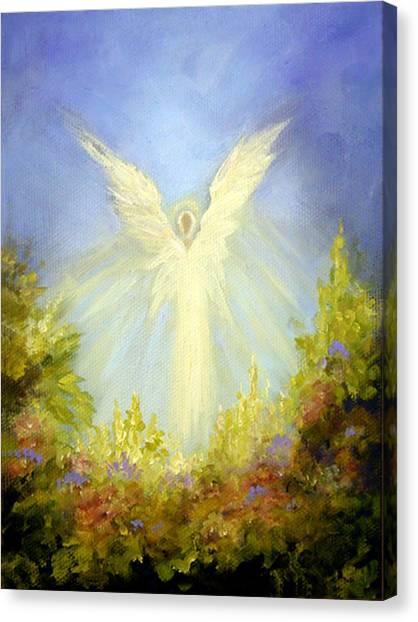 Angel's Garden Canvas Print