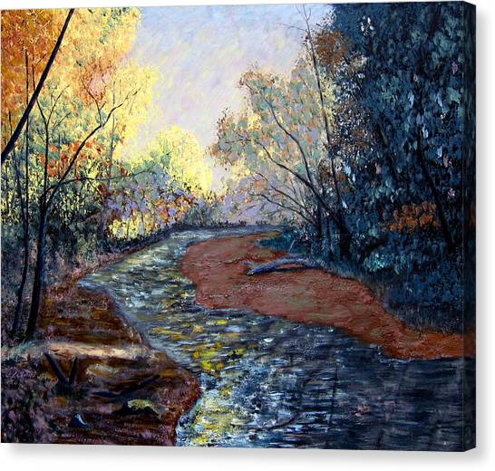 Angels In Nature Canvas Print by Stan Hamilton