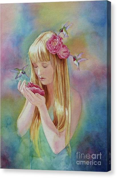 Angel's Nectar Canvas Print