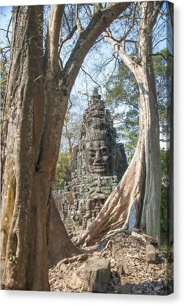 Angkor Thom South Gate Canvas Print
