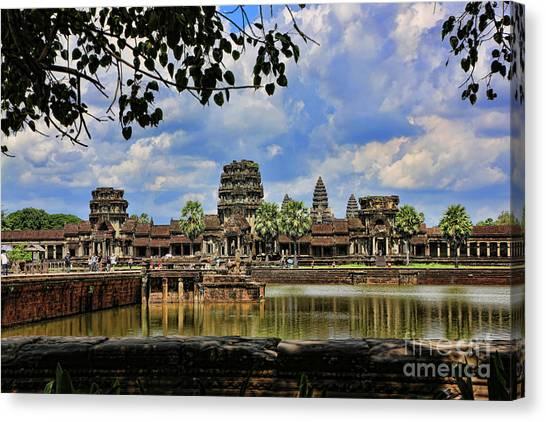Angkor Wat Panorama  Canvas Print