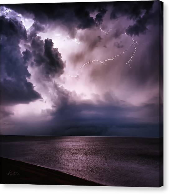 Angry Heavens Canvas Print