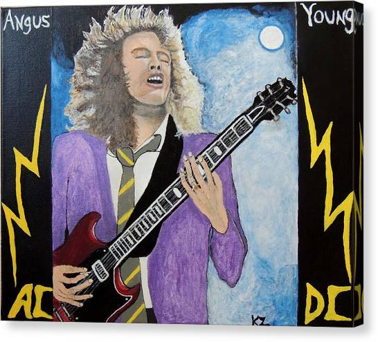 Angus Young Forever. Canvas Print