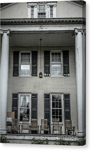 Fraternity Canvas Print - Animal House by Edward Fielding