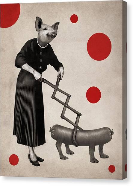 Irrational Canvas Print - Animal9 by Francois Brumas