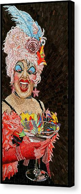 Anita Cocktail Canvas Print by Michael Kruzich