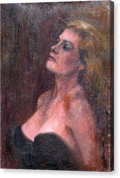 Anita Canvas Print by Elisabeth Nussy Denzler von Botha