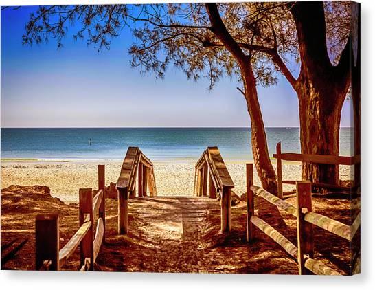 Anna Maria Island Beach Fl Canvas Print