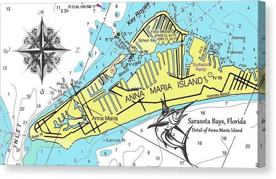 Anna Maria Island Canvas Print