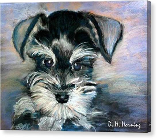 Annabelle Canvas Print by David  Horning