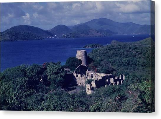 Annaberg Ruins And Sugar Mill Canvas Print