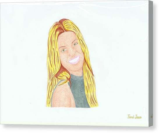 Annalynne Mccord Canvas Print