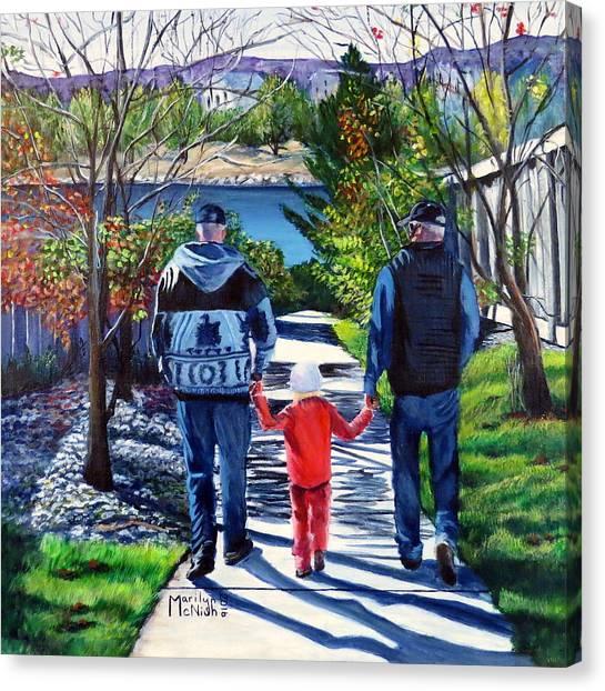 Anna's Grandpa's 2 Canvas Print