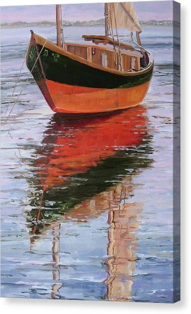 Anna's Tide Come In Canvas Print