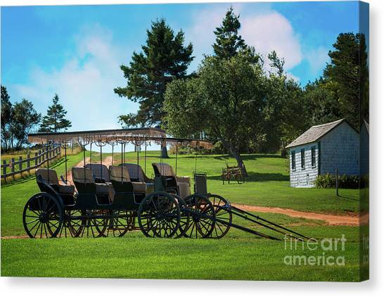 Anne Of Green Gables Canvas Print