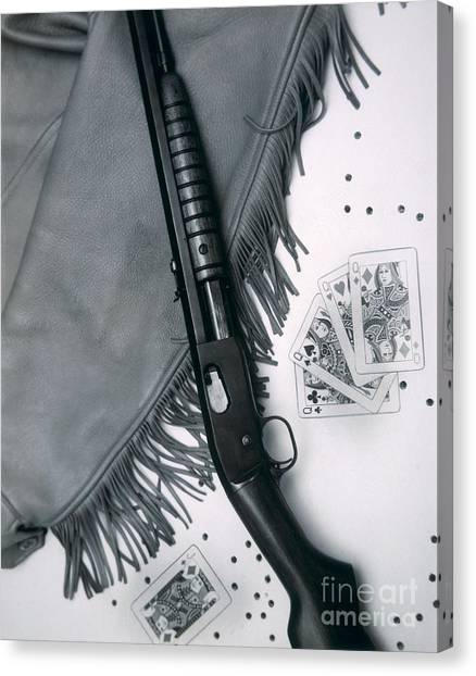 Nra Canvas Print - Annie Oakley's Remington Rifle by American School