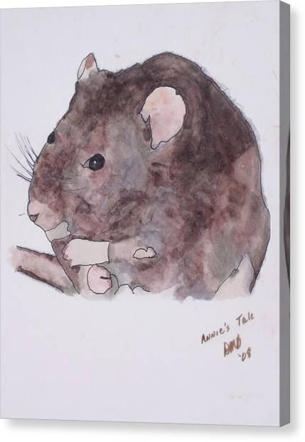 Annie's Tale Canvas Print
