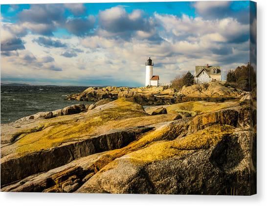 Annisquam Harbor Light Canvas Print
