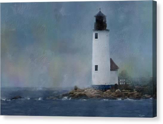 Anisquam Rain Canvas Print