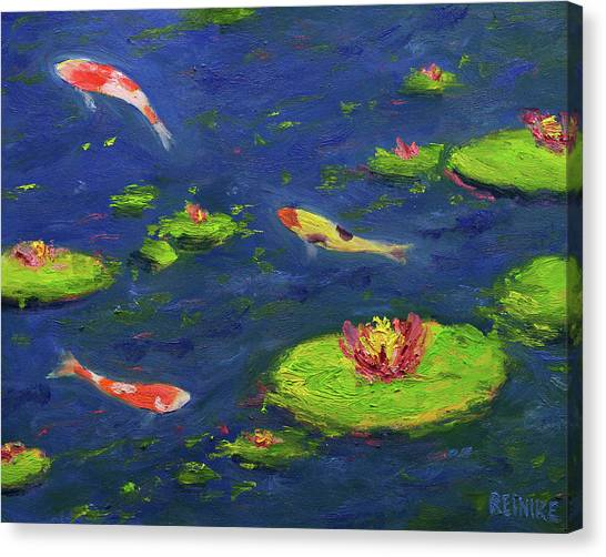 Ann's Pond V Canvas Print