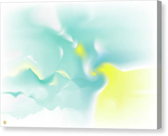 Canvas Print featuring the digital art Aven by Ron Labryzz