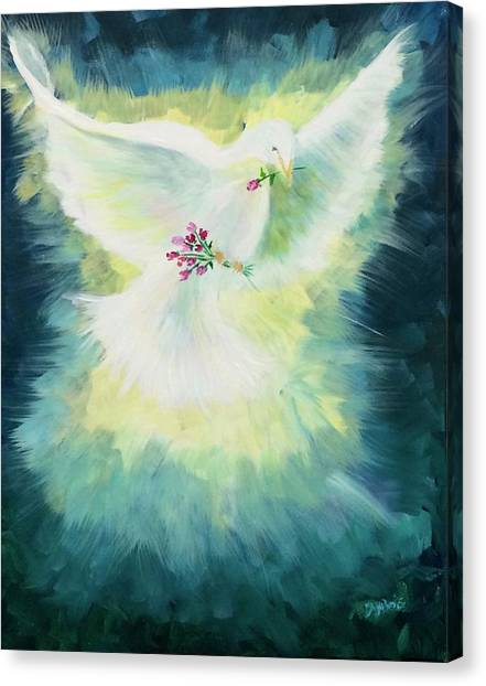 Anointed Canvas Print