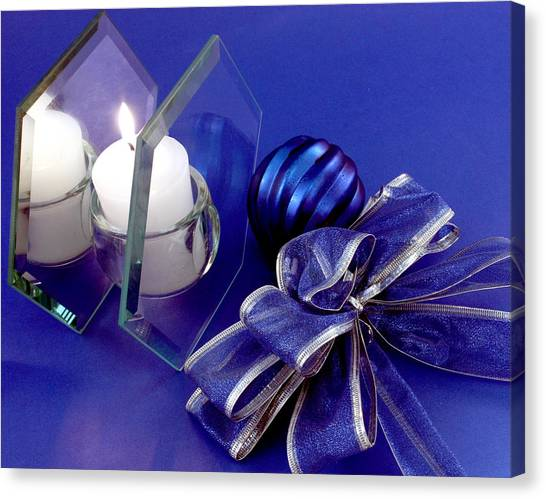 Another Blue Christmas Canvas Print