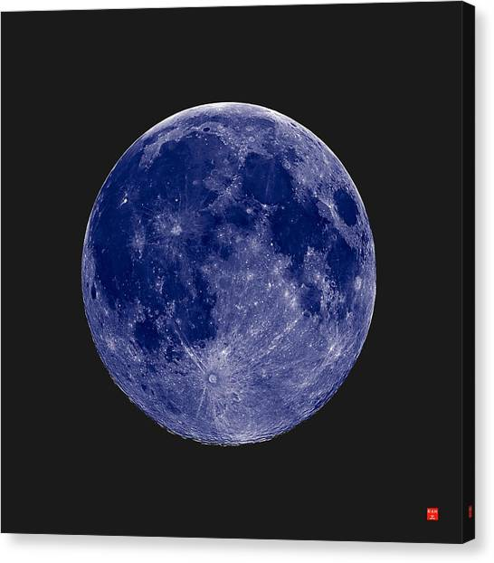 Another Blue Moon Canvas Print