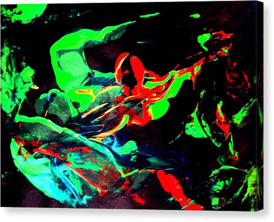 Another Combatant Canvas Print by Bruce Combs - REACH BEYOND