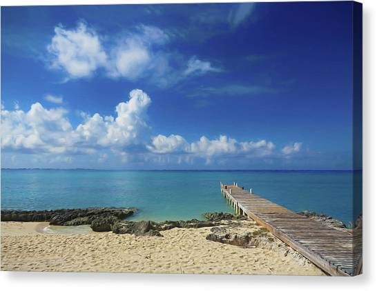 Mexican Canvas Print - Another Day In Paradise by Tom Mc Nemar